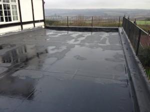Firestone Flat Roof Membrane