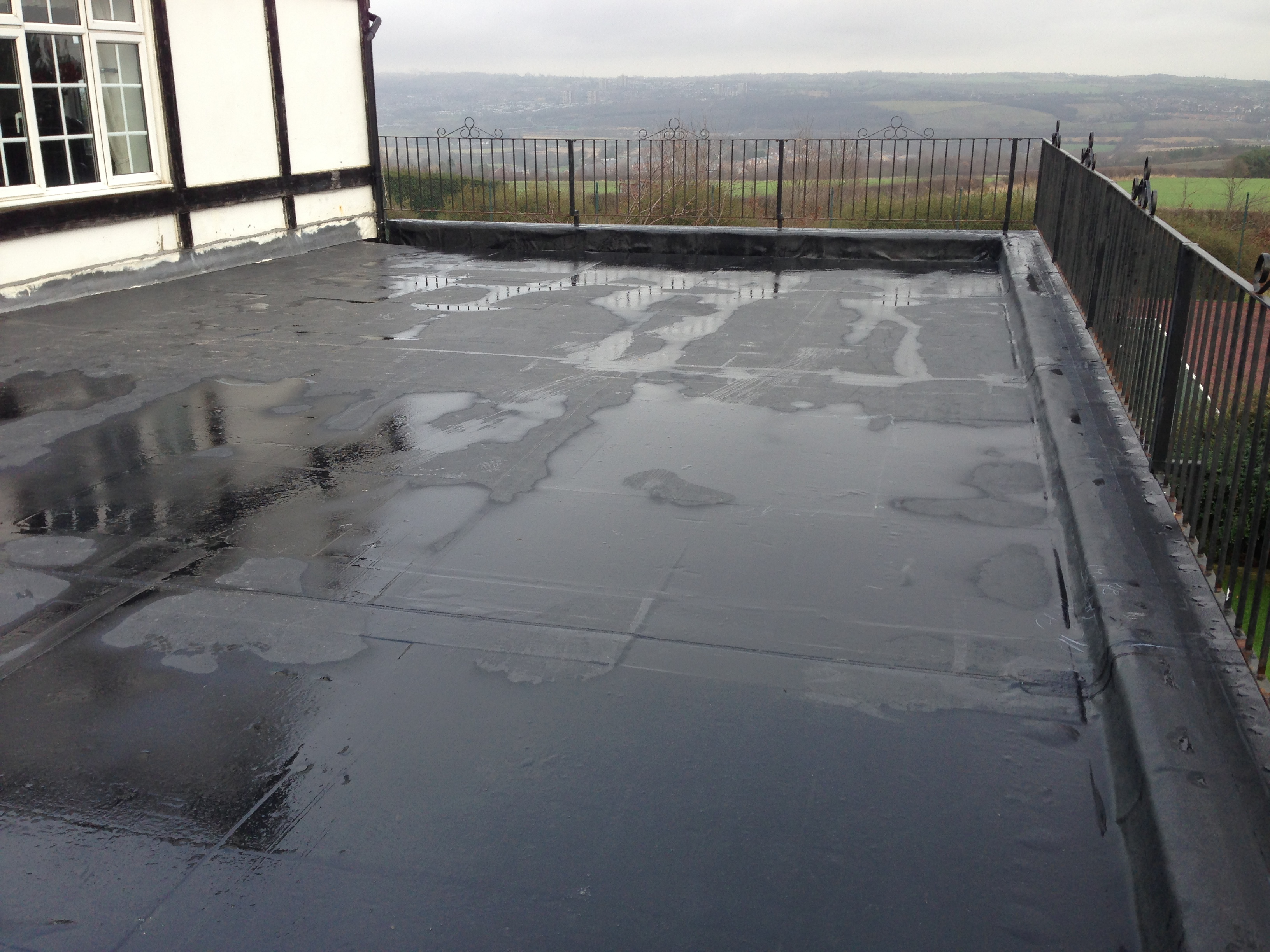 Firestone Rubbergard Epdm Flat Roof Systems Sprayseal