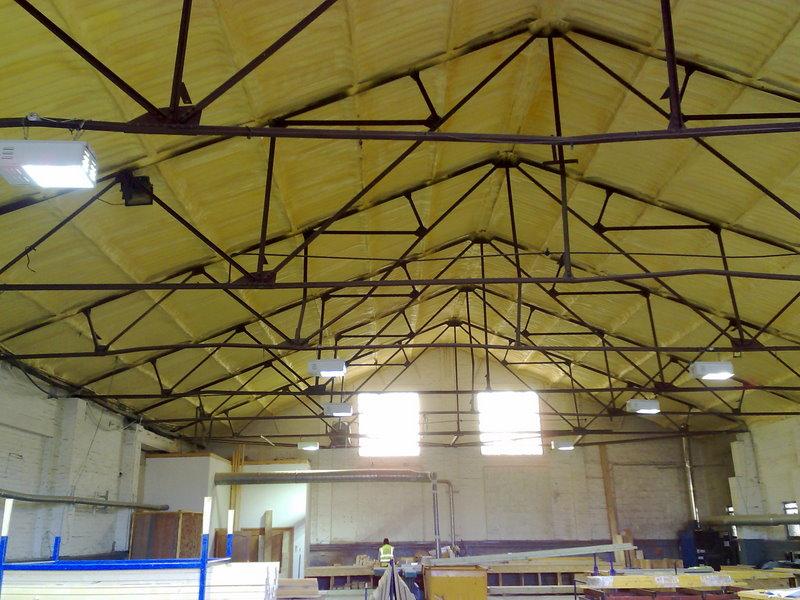 Warehouse Ceiling Insulation Www Gradschoolfairs Com